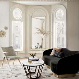 TREND: curved sofa